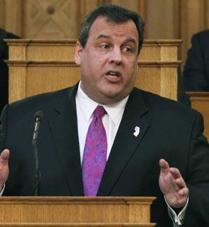 New Jersey Gov. Chris Christie
