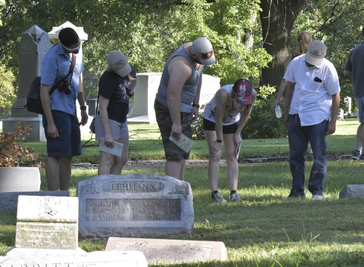 Bellefontaine Cemetery Walking Tour