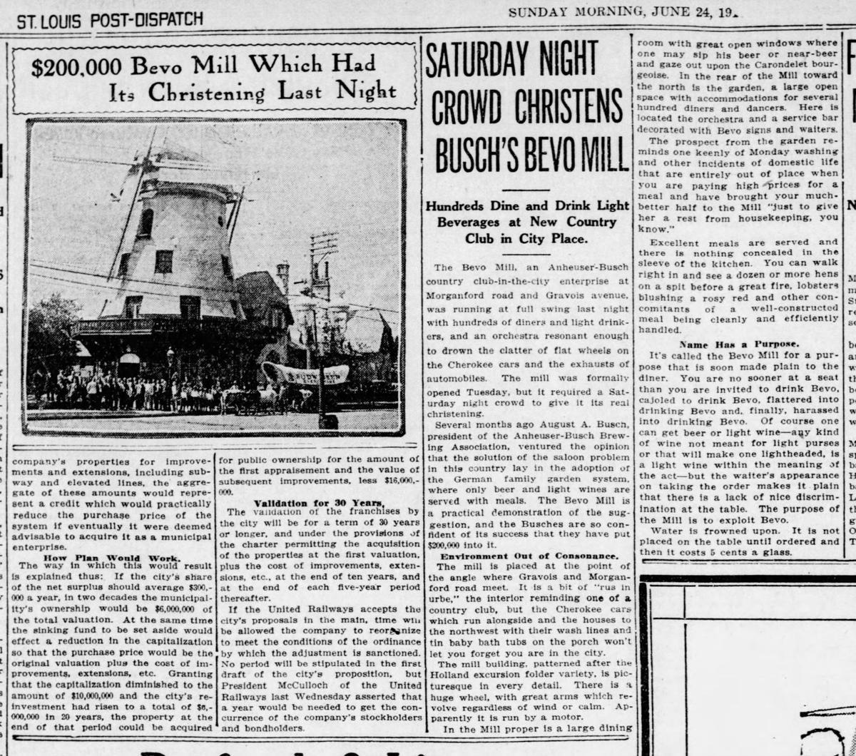 Bevo Mill opens
