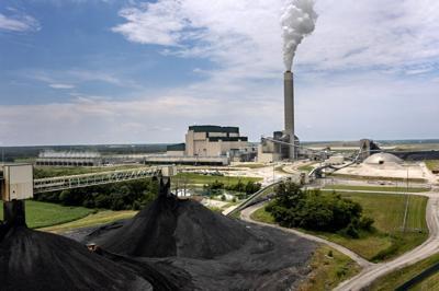 Prairie State Energy Campus, 1630 megawatt coal-fired power plant in Marissa