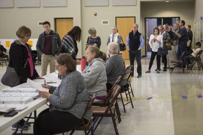 Midterm election voting