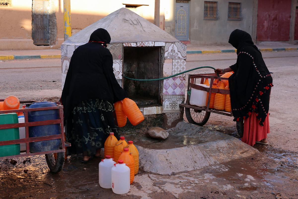 Morocco No Water
