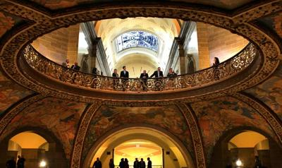 Capitol rotunda in Jefferson City