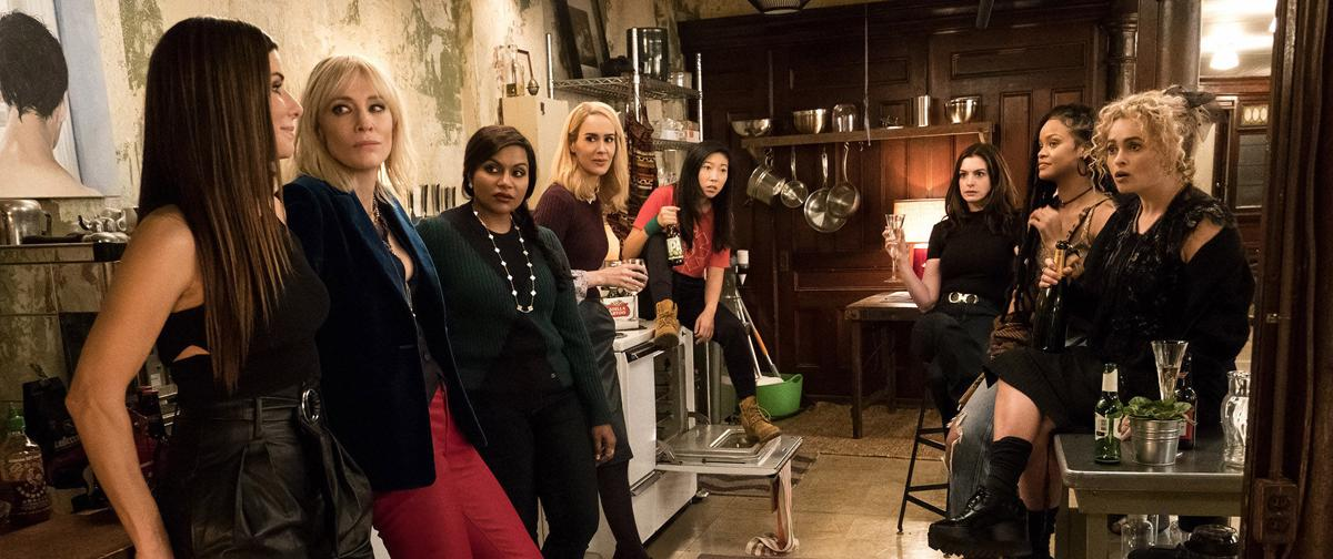 Yes, 'Ocean's 8' is a heist movie, but it's also an empowering, cheeky comedy