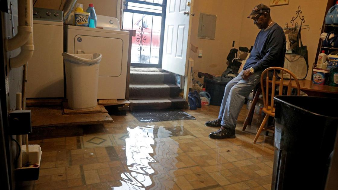 News Image for 'Nowhere to go': Centreville residents are still living with sewage and floodwater
