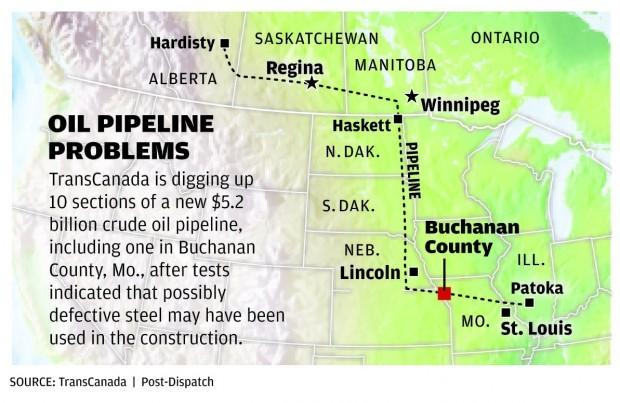 Keystone TransCanada Pipeline