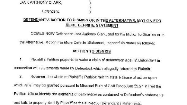 Defendant S Motion To Dismiss Or Motion For More Definite