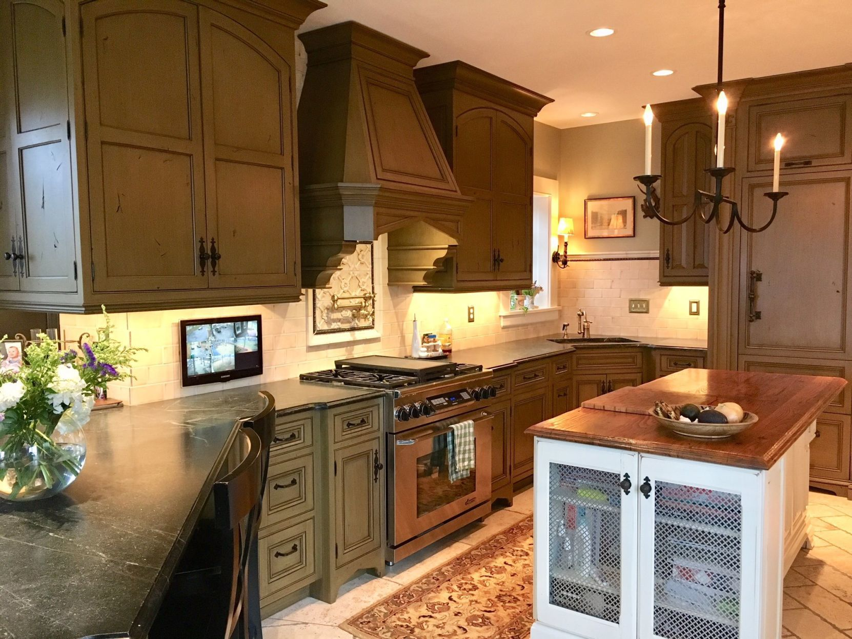 At Home  Master Bath. Professional Kitchen Remodelers ...