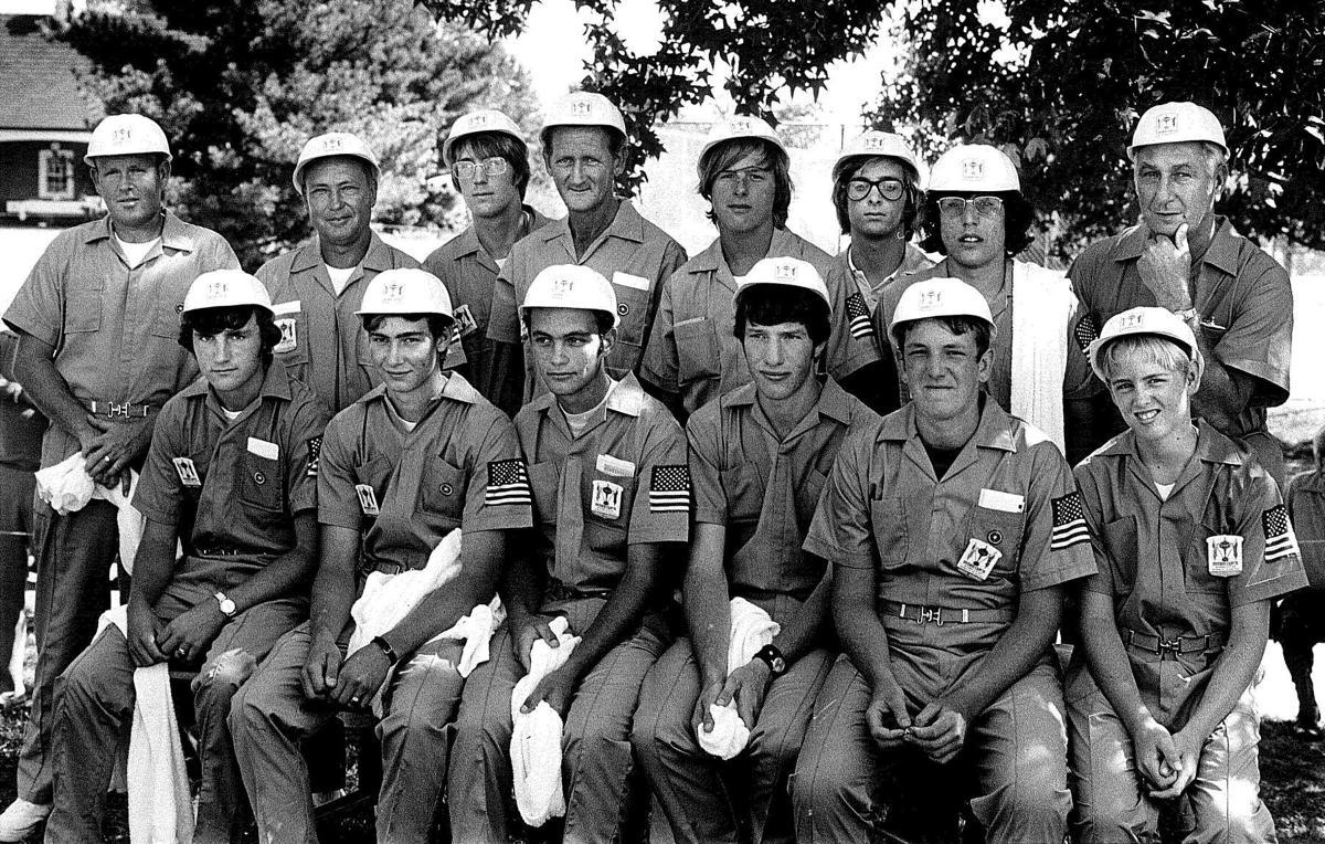 Ryder Cup caddies 1971