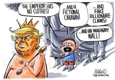 Emperor no clothes