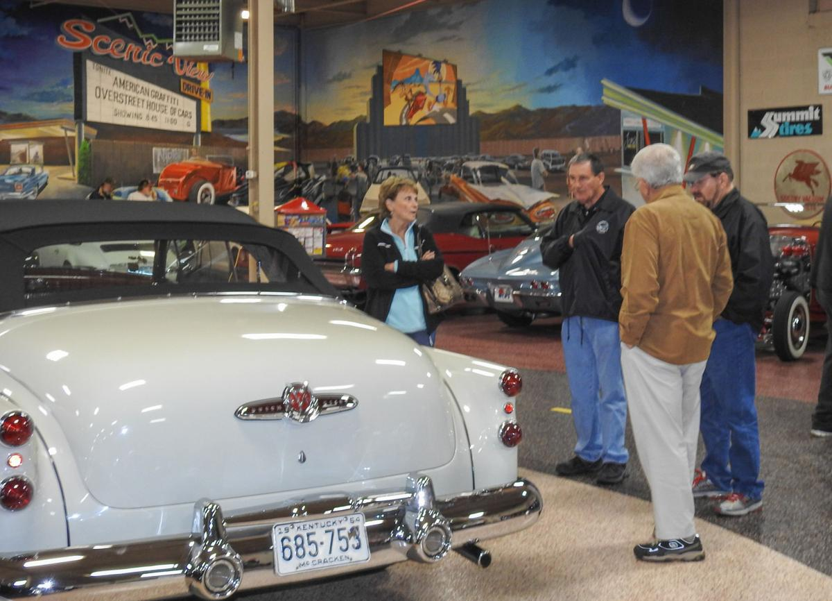 1953 Buick Skylark right at home in the Overstreet collection ...