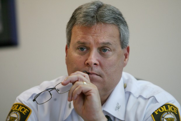 St. Louis County Police Chief Tim Fitch