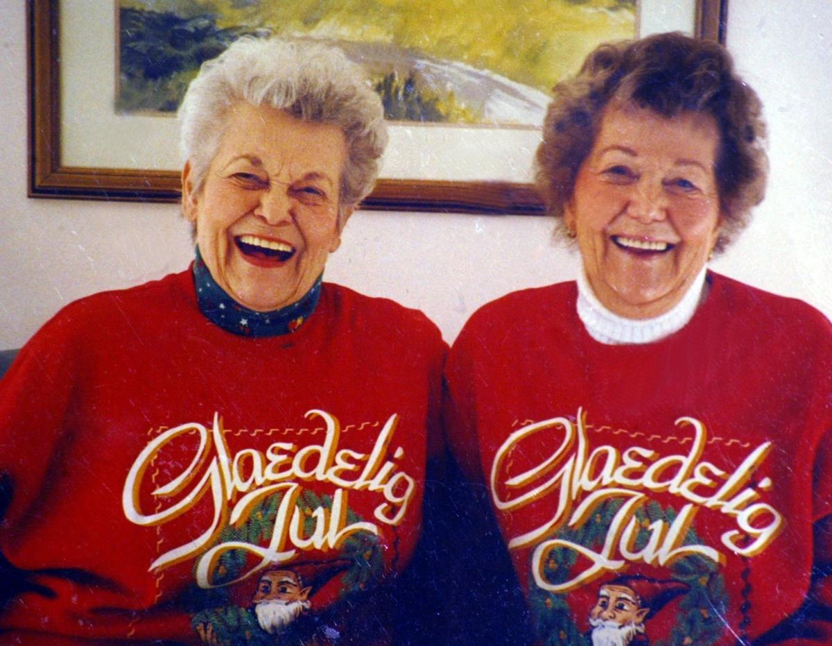 Doris Fischer and Dorothy Bone