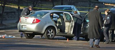 Shooting at Chouteau Avenue and Tucker Boulevard