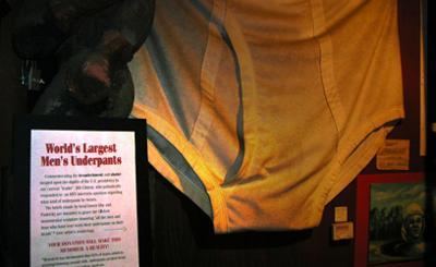 World's Largest Men's Underpants