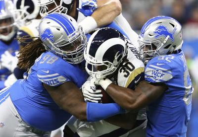 efea6575 NFL roundup: Gurley-led Rams beat Lions, clinch NFC West | Football ...