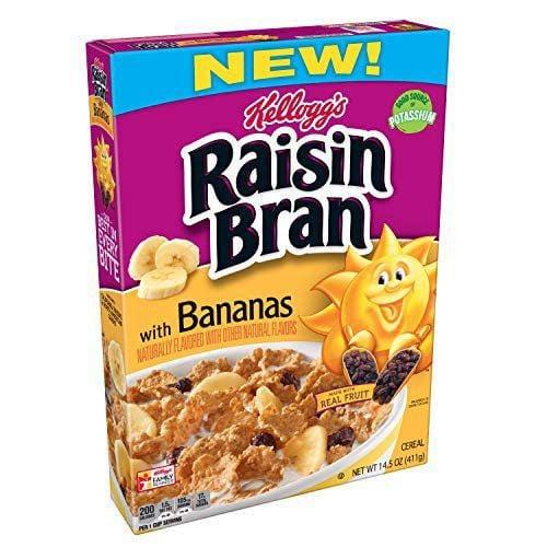 Best Bites: Kellogg's Raisin Bran with Bananas