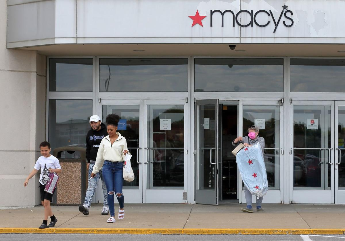 Macy's reopens at Mid Rivers Mall