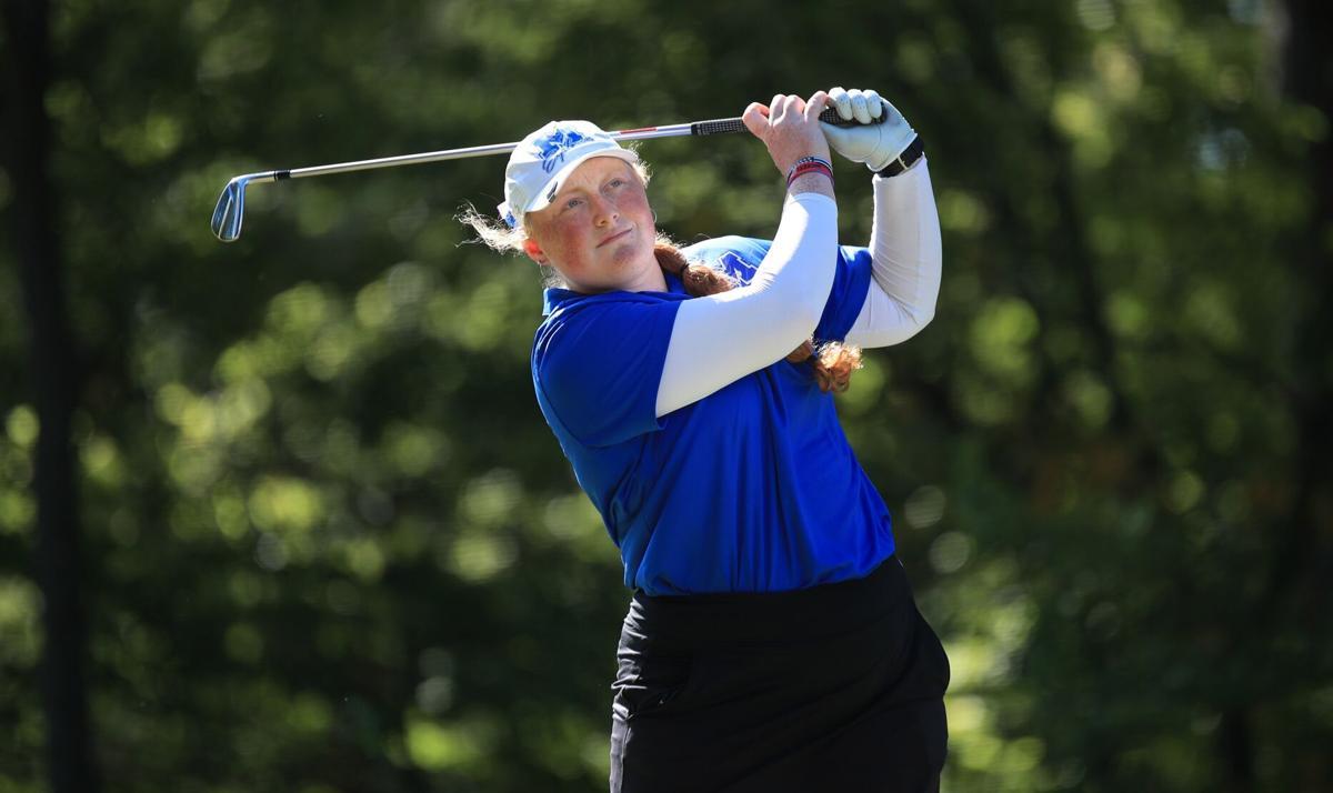 Class 1A Gibault Sectional girls golf tournament