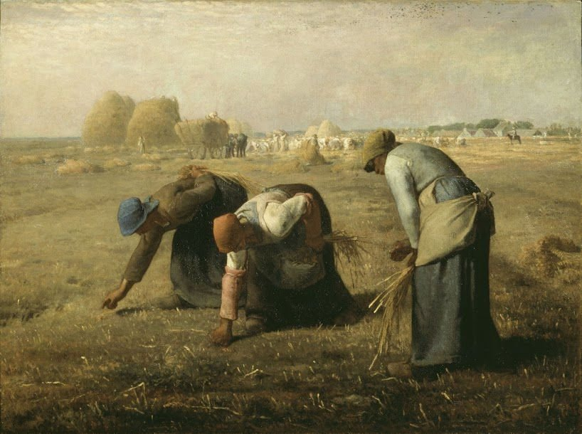 """""""The Gleaners"""" by Jean-Francois Millet"""