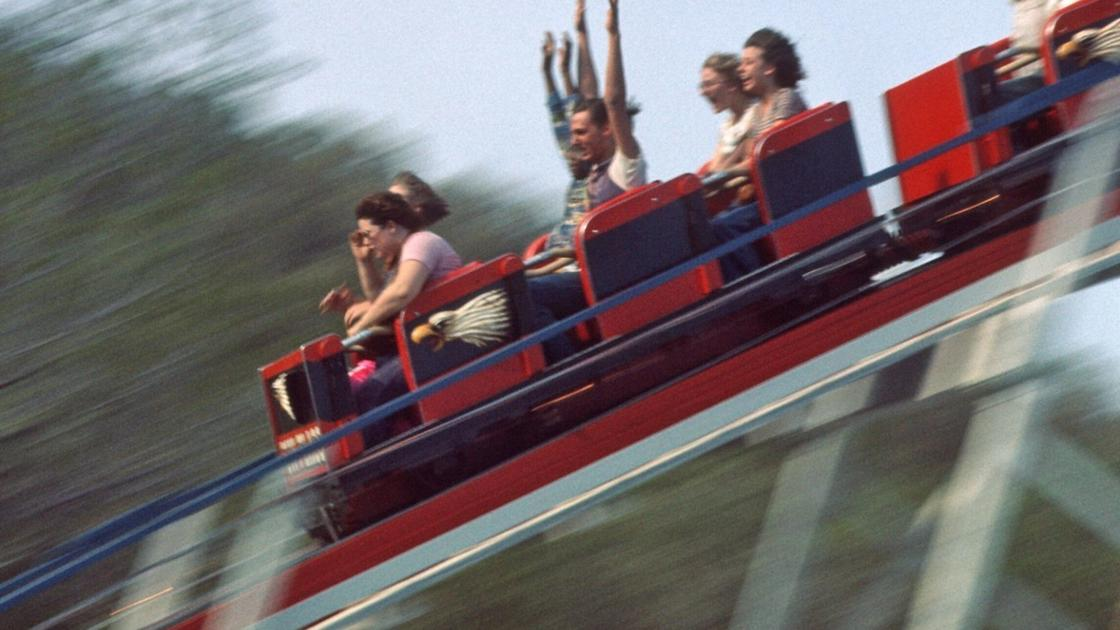Whoosh! The day the Screamin' Eagle made its Six Flags debut