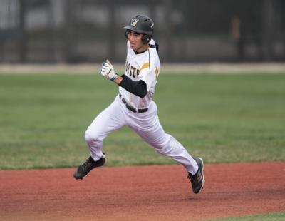 Michael Wielansky runs for the College of Wooster