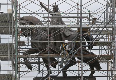 King Louis IX gets a facelift in Forest Park