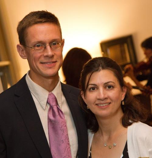 Scott Andrews and Nina Ferrigno