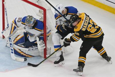 Blues skate in critical Game 5 of the Stanley Cup Final