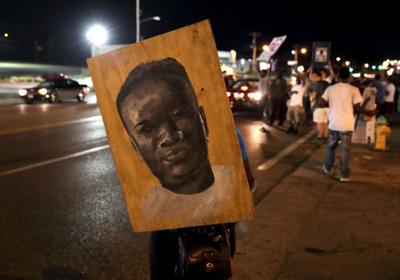 Third anniversary of Michael Brown's death and Ferguson protests