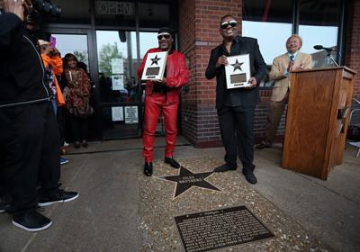 Isley Brothers get star on St. Louis Walk of Fame in the Loop