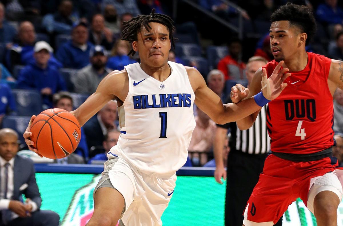 Duquesne Dukes vs St. Louis University Billikens men's basketball