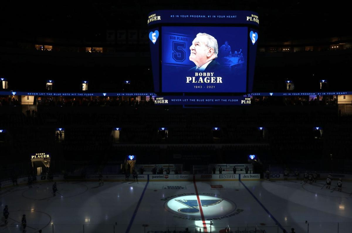 St. Louis Blues honor legendary player Bob Plager