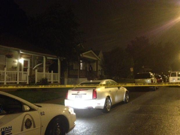 Shooting in 4600 block of Newport Avenue.