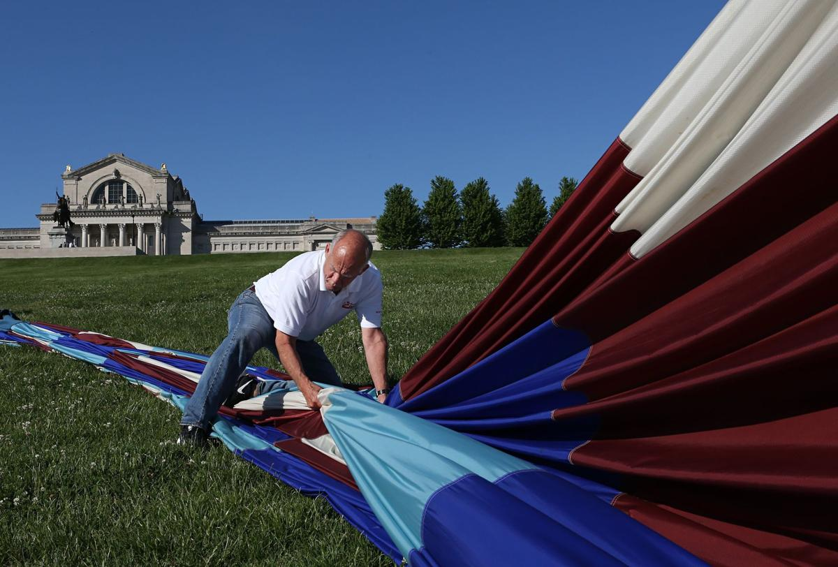 Great Forest Park Balloon Race moves to Art Hill for 2017