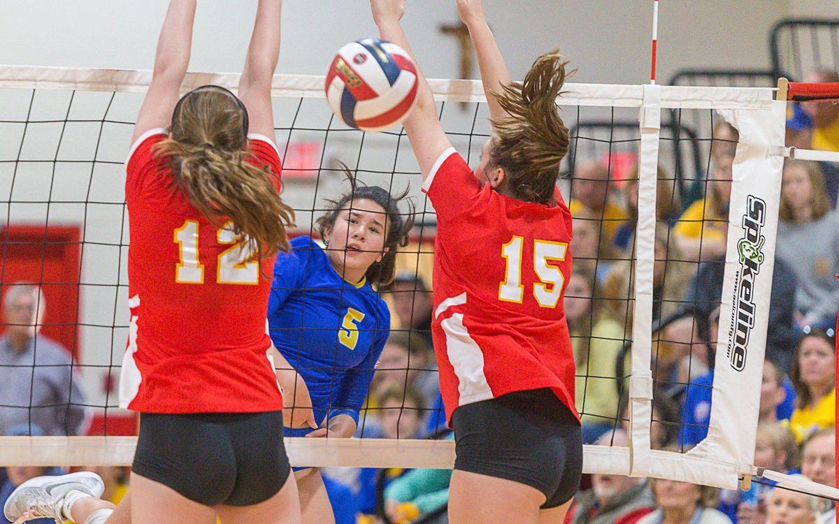 Borgia Brinkmann Storm Past Iwa And Into State Tournament Girls Volleyball Stltoday Com
