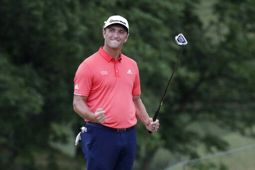 Rahm's wild day ends with Memorial win and No. 1 ranking