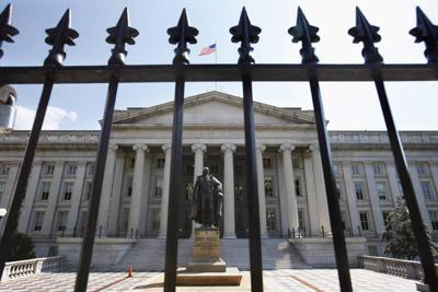 U.S. Department of the Treasury Treasury Department headquarters Treasury Building
