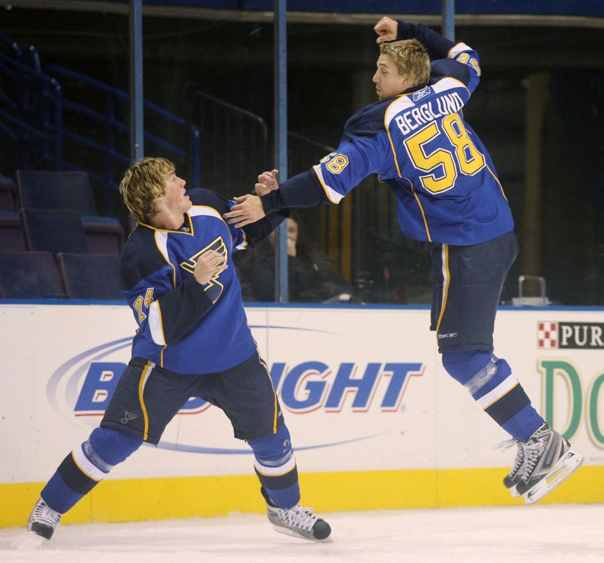 From promising Blues rookie to trade fodder, a look at the Berglund era in St. Louis
