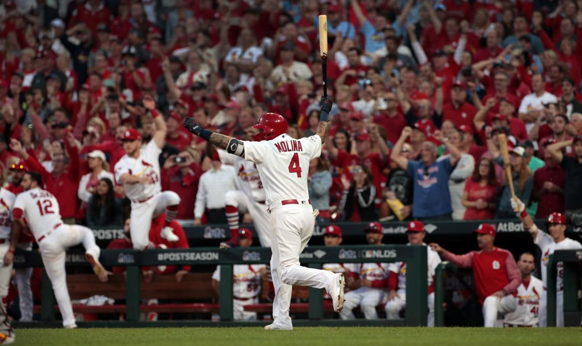 Cardinals force deciding fifth game of the NLDS with a 5-4 win over the Braves in the 10th inning