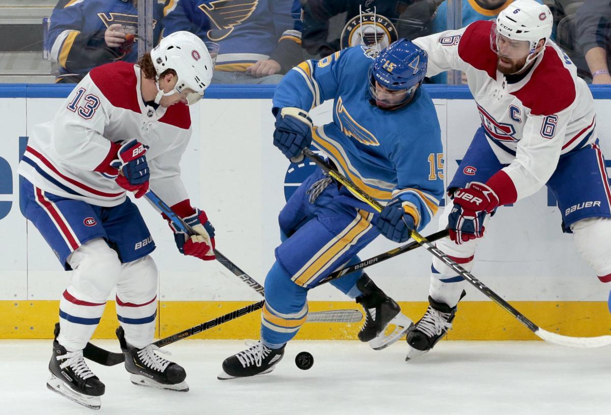 Blues v Canadiens