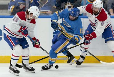 Blues v Canadiens