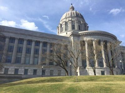 The Capitol building in Jefferson City