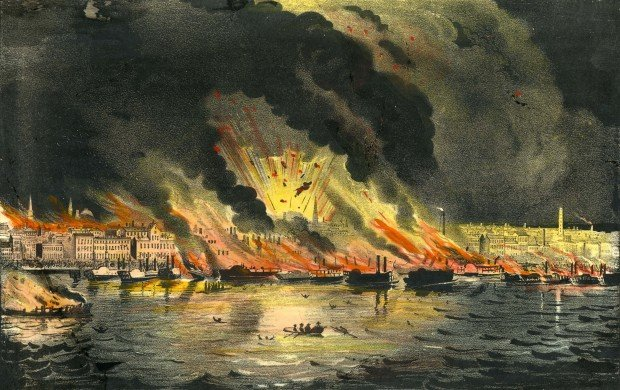 Look Back:  Great Fire of 1849