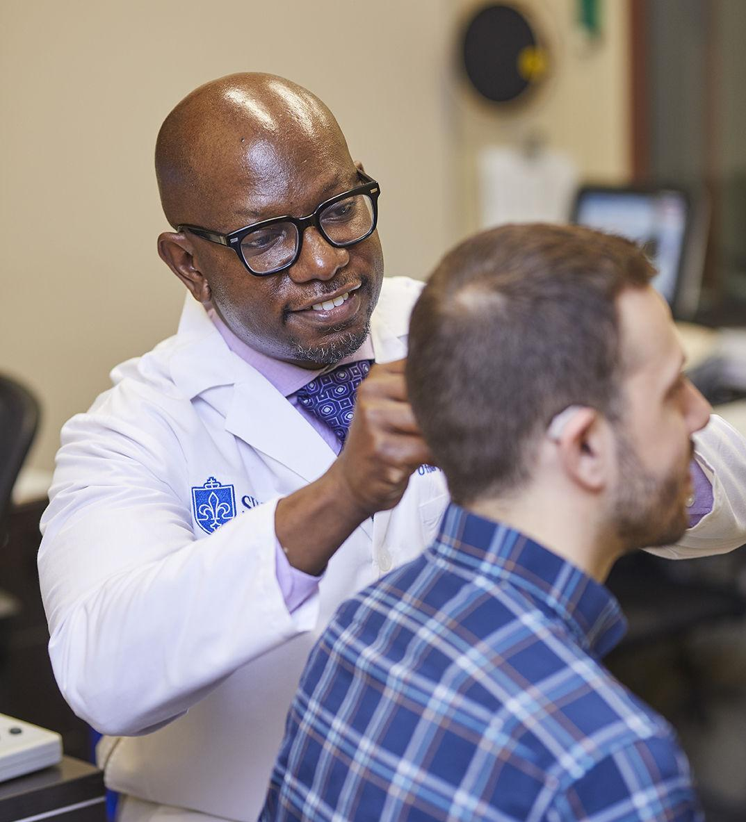 SLUCare audiologists provide expert care to ease living with hearing loss