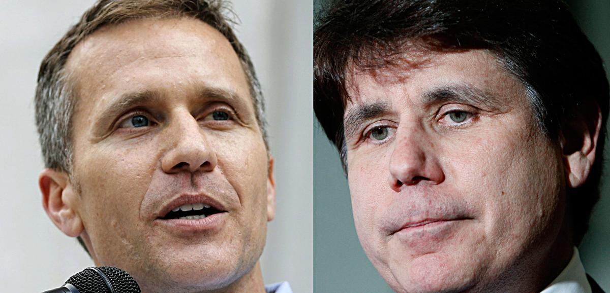 Eric Greitens and Rod Blagojevich