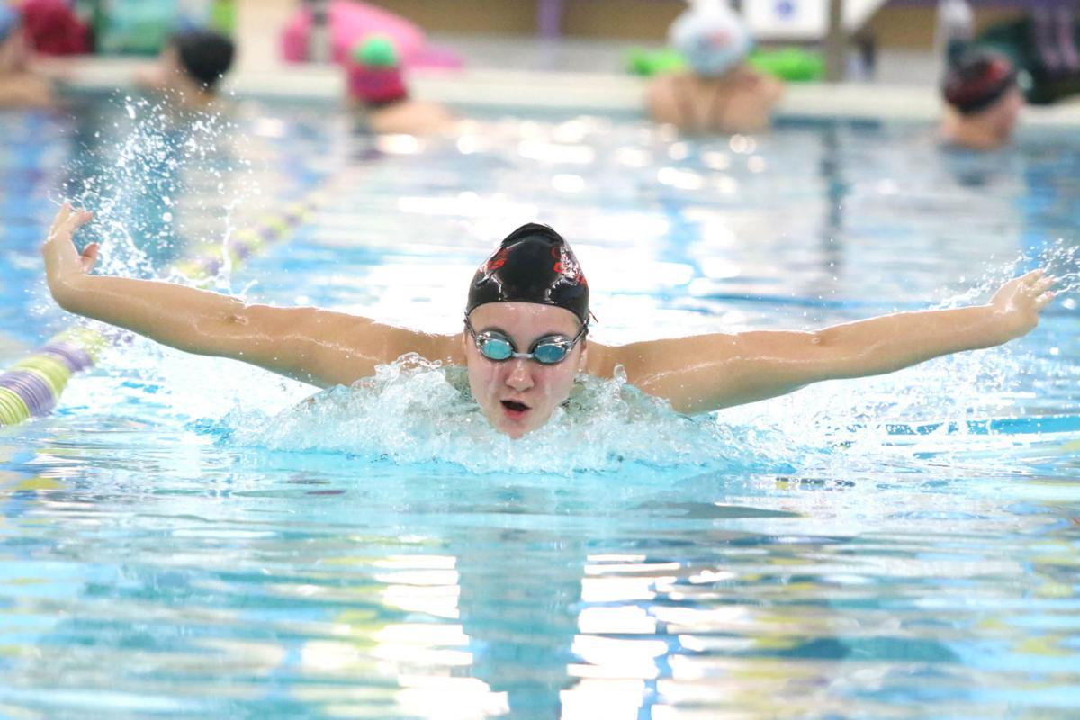 Karisa Franz, Cor Jesu swimming