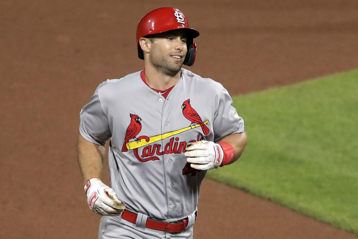 Photos: Goldschmidt's slam fuels a dramatic night in Pittsburgh