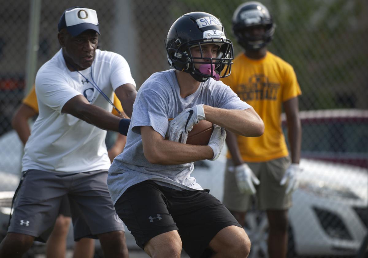 O'Fallon High School football practice