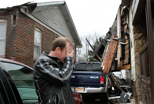 Storms damage homes in Granite City